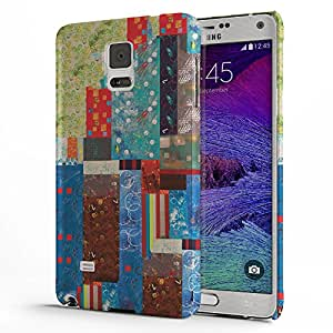 Koveru Back Cover Case for Samsung Galaxy Note 4 - Paint Pattern