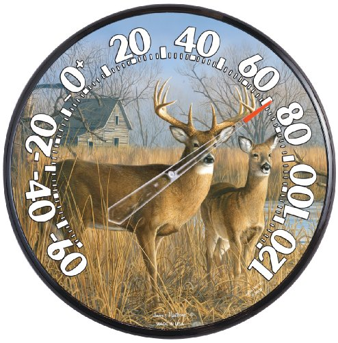 Chaney Instruments Acu-Rite 01737 12.5-inch Deer Thermometer