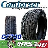 COMFORSER ラジアルタイヤ CF700 245/45R19インチ 単品 サマータイヤ 中国製