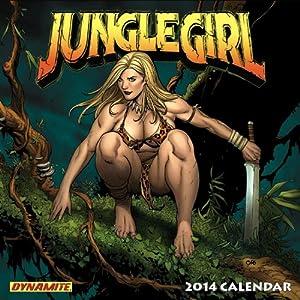 Jungle Girl 2014 Wall Calendar Frank Cho