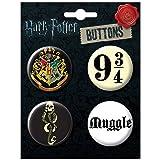 Ata-Boy Harry Potter Favorites Assortment #4 Set of 4 1.25