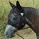 Cashel Quiet Ride Standard Fly Mask With Ears - All Sizes