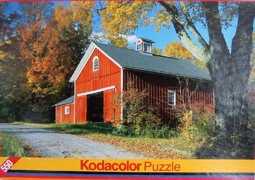 Kodacolor Puzzle-Autumn Farm Jefferson, NY