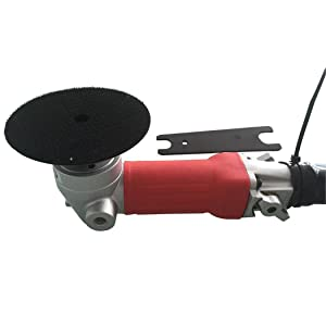 Air Grinder,4-Inch Air Wet Stone Polisher 5500 Rpm with Rear Exhaust,Air-Powered Stone Polisher (Color: Rear Exhaust(Black), Tamaño: Rear Exhaust)