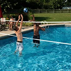 In-ground Series Pool Volleyball Set