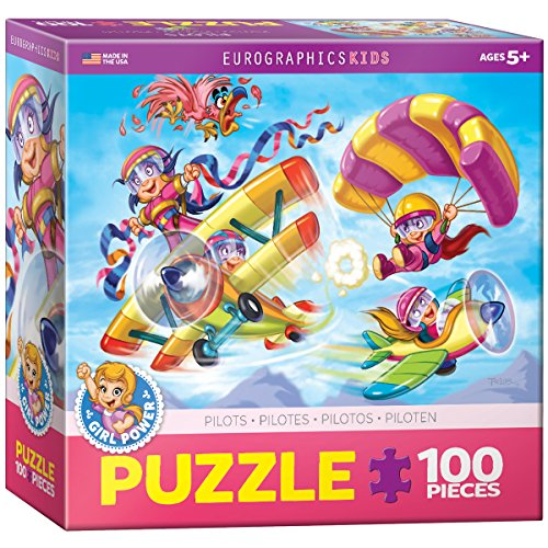 EuroGraphics Girl Power! Aviators Puzzle (100-Piece)