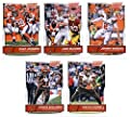 2016 Score Cleveland Browns Veterans Team Set of 10 Football Cards: Johnny Manziel(#75), Josh McCown(#76), Duke Johnson(#77), Isaiah Crowell(#78), Travis Benjamin(#79), Brian Hartline(#80), Gary Barnidge(#81), Karlos Dansby(#82), Danny Shelton(#83), Andre