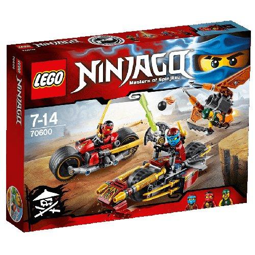 LEGO Ninjago 70600 - Inseguimento Sulla Moto dei Ninja