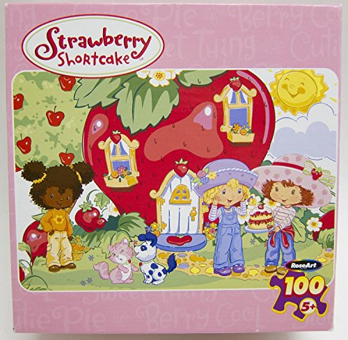 Strawberry Shortcake 'Life is Delicious' 100 Piece Jigsaw Puzzle