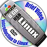 Linux on 8Gb USB Flash and 3-DVDs, Installation and Reference Set, 32-bit: Debian 6 and Fedora 18