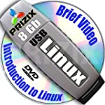 Linux on 8Gb USB Flash and 3-DVDs, In...