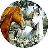 Tortenaufleger Pferde 09