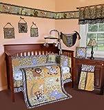 SISI Baby Bedding - African Safari 13 PCS Crib Bedding