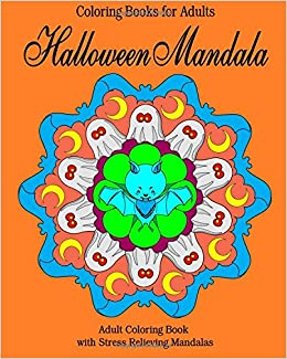 coloring book for adults amazon coloring books for adults halloween mandala