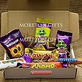 Cadbury Funsize Treat Box - Buttons, Freddo Bars, Curly Wurly, Chomp, Fudge & Crunchie - By Moreton Gifts