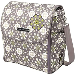 Petunia Pickle Bottom Boxy Backpack Diaper Bag (Misted Marseille) from Petunia Pickle Bottom