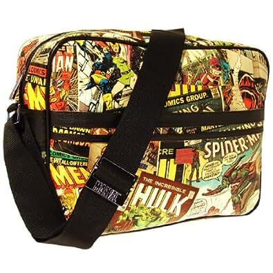 Marvel Retro Messenger Men's Travel Accessory Vintage Multi One Size