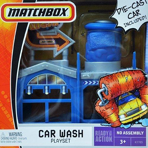 Matchbox Car Wash Playset with Die-Cast Car