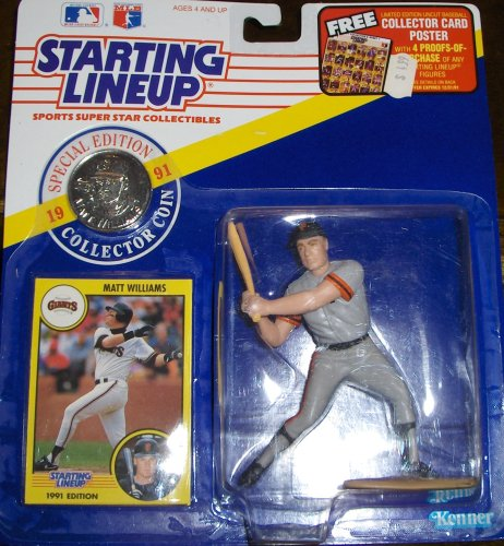 Matt Williams 1991 MLB Starting Lineup - 1