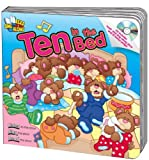 img - for Ten in the Bed Read & Sing Along Board Book With CD book / textbook / text book