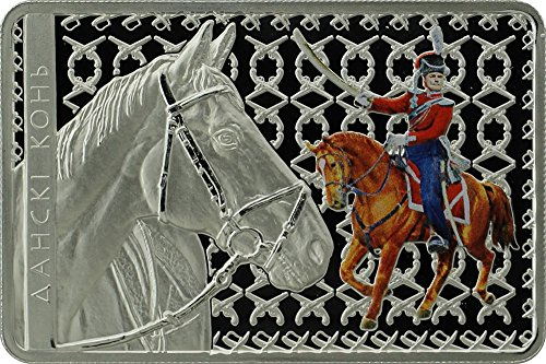 2012 BY horses breeds DON HORSE Horses Breeds Russian Silver Coin Belarus 2012 Dollar Perfect Uncirculated