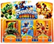 Figurine Skylanders : Giants - Drill sergeant + Prism break + Lightning rod