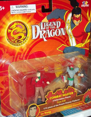 Legend Of The Dragon Combat Master - Lo Wang & Rooster Guardian Action Figure - 1