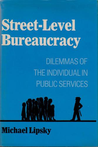 Munro review lipsky s notion of street level bureaucracy