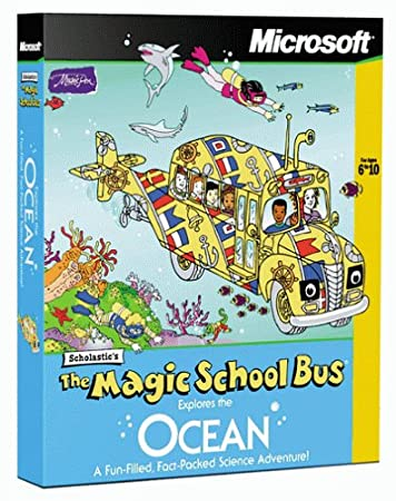 Magic School Bus Explores the Ocean [Old Version]