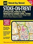AA Street by Street Stoke on Trent: Midi