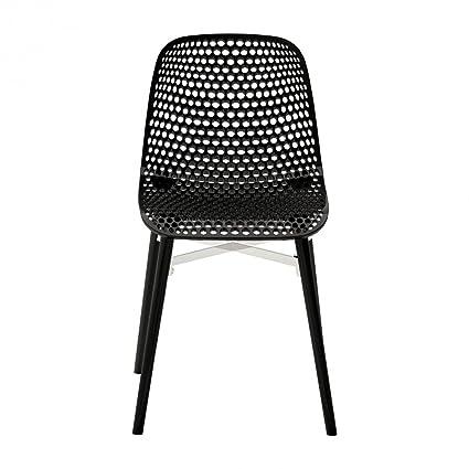 Next Chair black/legs beech black/glossy