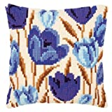 Vervaco Crocus Cross Stitch Cushion Multi Colour