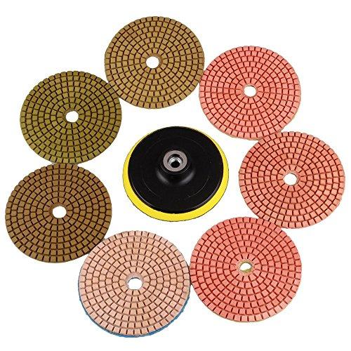 7pcs-bianco-bond-diamante-flessibile-wet-lucidatura-pad-per-granito-marmo-e-ceramica-diametro-100-mm
