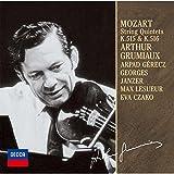 モーツァルト:弦楽五重奏曲 第3番・第4番