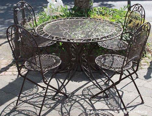 details zu eisen gartenm bel klapptisch metall wintergarten tisch pictures to pin on pinterest. Black Bedroom Furniture Sets. Home Design Ideas