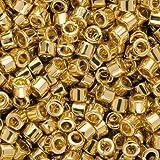 Miyuki Delica Bead 11/0 7.2 Gram Gold 24K Plated DB031