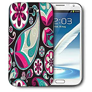 Snoogg Dark Abstract Pattern Printed Protective Phone Back Case Cover For Samsung Galaxy Note 2 / Note II