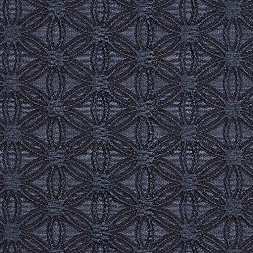 E531 Blue Flower Jacquard Woven Contemporary Upholstery Grade Fabric By The Yard (Buy Upholstery Fabric compare prices)
