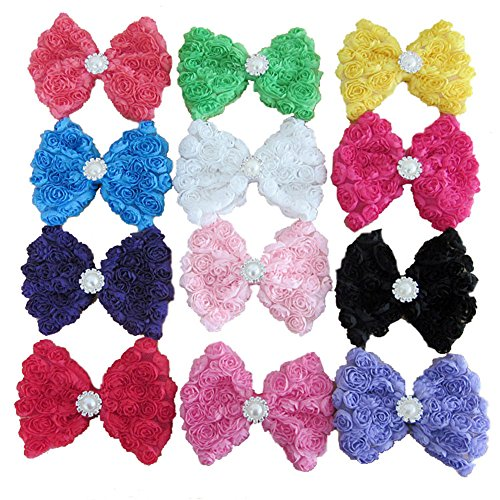 HYS Fashion Lot of 20 Lovely Baby Girl Hairband Color Headbands
