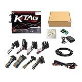 KTAG 7.020 V2.23 ECU Programmer V7.020 KTM100 KTAG ECU Programming Tool Master Software V2.23 with Unlimited Token (Color: Red)