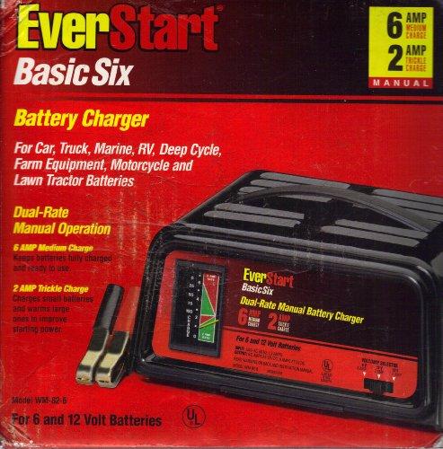everstart wm 82 6 basic six battery charger automotive battery and rh batteryandchargercompare blogspot com