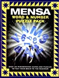 img - for Mensa ~ Word & Number Puzzle Pack (Box Set) book / textbook / text book