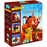 The Lion King 1-3 on Blu-ray
