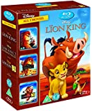 The Lion King 1-3 [Blu-ray] [1994] [Region Free]