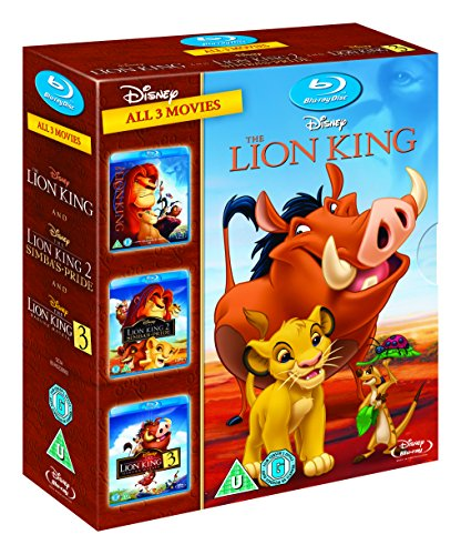 The Lion King Trilogy 1-3 [Blu-ray] 1 2 3 Box Set [UK Import] - Don Hahn