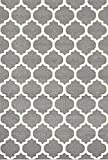 HUSAINI INTERNATIONAL CARPET/RUG FOR LIVING ROOM COLOR GREY (5 x 8 ft)