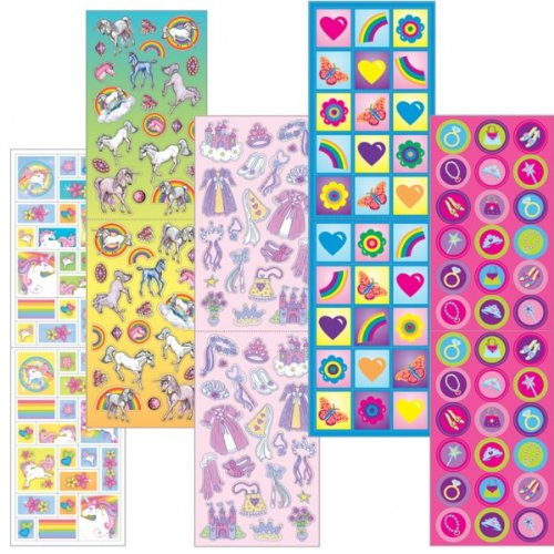 prin/uncrn sticker value pack - 1