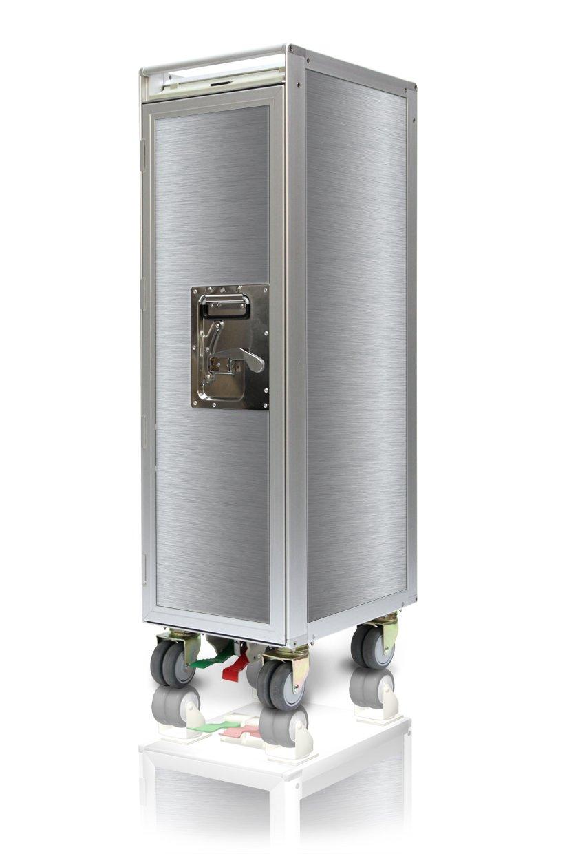 Skyboxx uni silver neu Flugzeugtrolley, inklusiv 7 Kunststoffschubladen