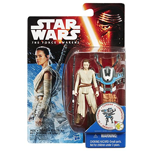 Star Wars The Force Awakens 3.75-Inch Figure Snow Mission Rey (Starkiller Base) JungleDealsBlog.com