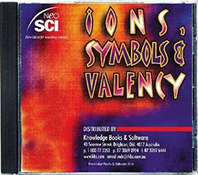 Neo/SCI Ions, Symbols & Valency CD-ROM